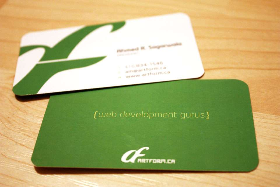 Artform Business Cards