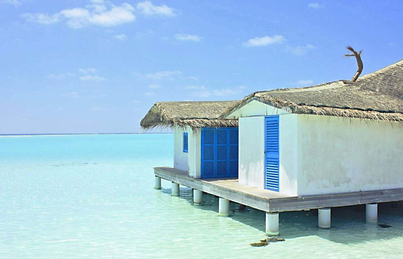 Wallpaper Wednesday: Maldives Shack