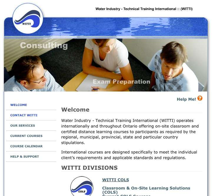 Water Industry – Technical Training International