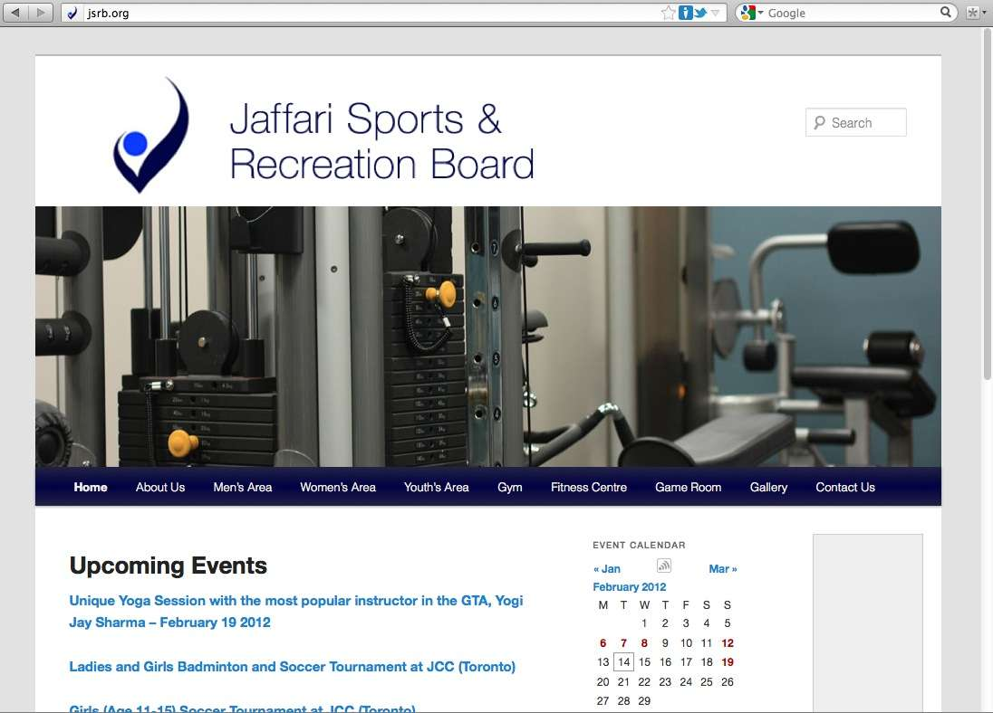 Jaffari Sports & Recreation Board